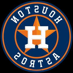 Houston Astros H Star Removable UV Round Magnets No Car Bump