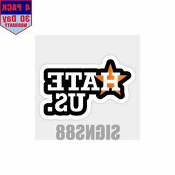 Houston Astros Hate Us T Shirt Sweater Hoodie Sams 4 pack 4x