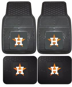 Houston Astros Heavy Duty Vinyl Car, Truck, SUV Auto Floor M