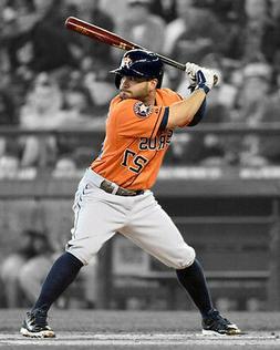 Houston Astros JOSE ALTUVE Glossy 8x10 Photo Baseball Poster