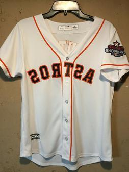 Houston Astros Jose Altuve Women's MLB Majestic Cool Base Je