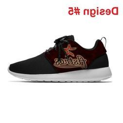 HOUSTON ASTROS Lightweight Shoes Men's Womens Sneakers Baseb