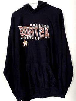 Houston Astros Mill Tex LOGO Blue Heavy Sweatshirt Hoodie XL