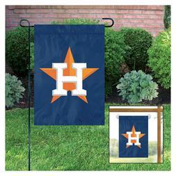 Houston Astros NEW LOGO GARDEN Window Flag Banner Applique E