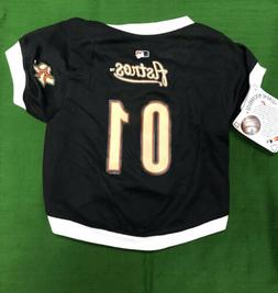 Houston Astros Medium Dog Jersey MLB Baseball Pet Shirt