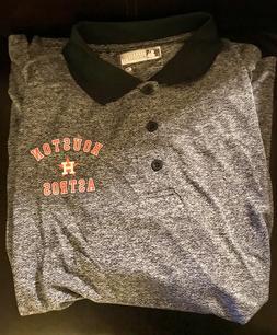 Houston Astros Men's 2X-Large Performance Polo Shirt True Fa