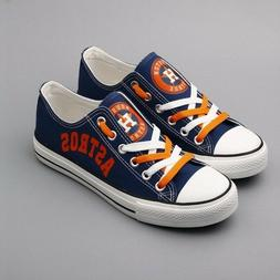 HOUSTON ASTROS Men's Women's Sneakers Shoes Baseball 2019 Li