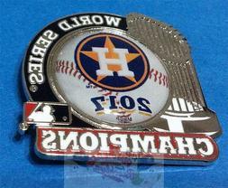 HOUSTON ASTROS MLB 2017 WORLD SERIES CHAMPIONSHIP TROPHY PIN