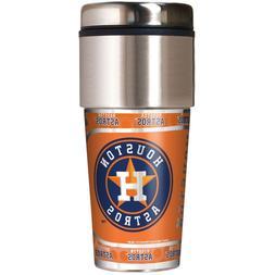 Houston Astros MLB 360 Wrap Travel Tumbler Coffee Mug Cup
