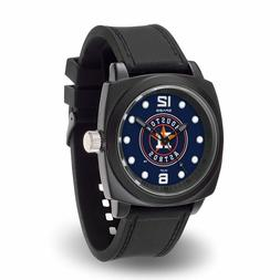 Houston Astros MLB Baseball Team Men's Black Prompt Watch
