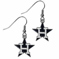 Houston Astros MLB Dangle Ear Rings