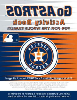 Houston Astros MLB Kids Sports Activity Book Coloring Sticke