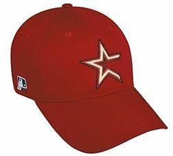 Houston Astros MLB OC Sports Throwback Hat Cap Red / Gold St