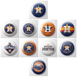 HOUSTON ASTROS - MLB pinback buttons - sports team pin - 10