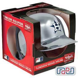 Houston Astros MLB Rawlings Silver Chrome Mini Replica Baseb