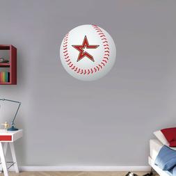Houston Astros MLB Symbol Logo Ball Art Wall Decor Sticker