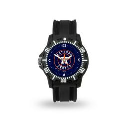 Houston Astros MLB Team Black Band Model 3 Watch