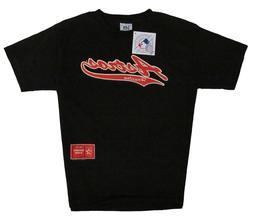 Houston Astros MLB Vintage Logo Short Sleeve T-Shirt Black S
