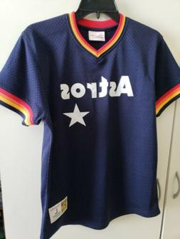 🔥🔥HOUSTON ASTROS MLB WORLD SERIES JERSEY YOUTH LARGE N
