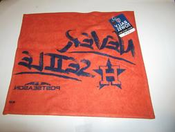 Houston Astros Never Settle 2018 Postseason Rally Towel 18""