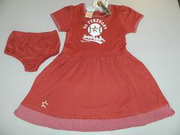 Houston Astros New MLB Baseball Girls Dress Toddler Two Piec
