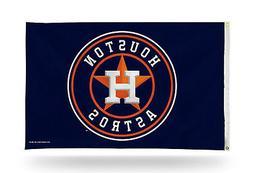 Houston Astros NEW LOGO Rico 3x5 Flag w/grommets Outdoor Ban