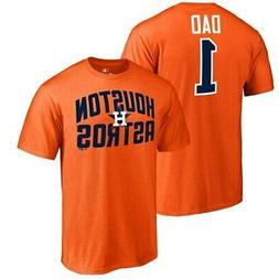 Fanatics Branded Houston Astros Orange 2019 Father's Day Num