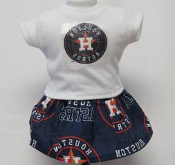 Houston Astros Outfit For 18 Inch Doll