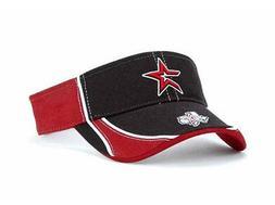 Houston Astros Oxbow MLB Visor Cap Hat Baseball Black Brick
