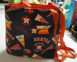 Houston Astros-Patchwork/Logos Tote Bag-Navy B/G-Machine Qui