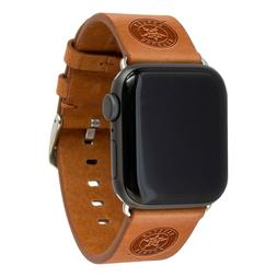 Houston Astros Premium Leather Apple Compatible Watch Band