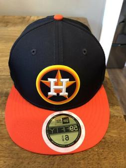 Houston Astros New Era Pro Light Youth fitted hat NWT 2018