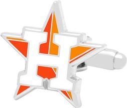Cufflinks Inc Men's Houston Astros Cufflinks,Red,US