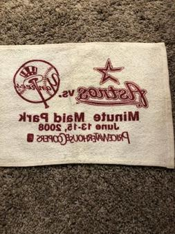 HOUSTON ASTROS RALLY TOWEL v NY YANKEES JUNE 13-15, 2008 MIN