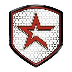 Houston Astros Reflector Decal MLB Auto Shield Team Logo Bik