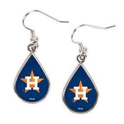 Houston Astros Tear Drop Earrings