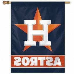 """Houston Astros Vertical Flag MLB Licensed Logo 27"""" x 37"""""""