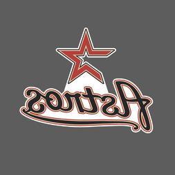 Houston Astros Vintage Logo 2000-2012 Sticker Vinyl Vehicle