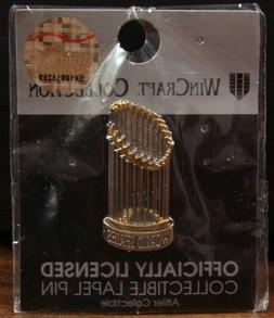 HOUSTON ASTROS WASHINGTON NATIONALS WORLD SERIES TROPHY COLL