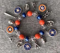 Houston Astros World Series Champions 2017 Charm Bracelet
