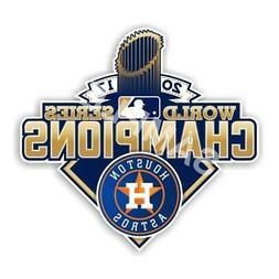 Houston Astros World Series Champions 2017 Decal / Sticker D