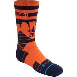 Houston Astros Stance Youth Diamond Pro Crew Socks