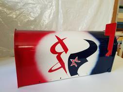 Houston Sports Teams Logo Mailbox