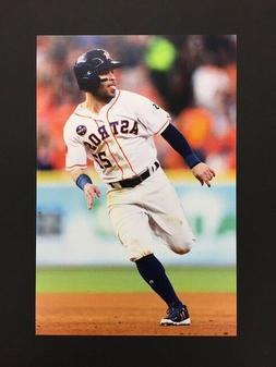 Jose Altuve Houston Astros 2018 Major League Baseball 4x6 Po