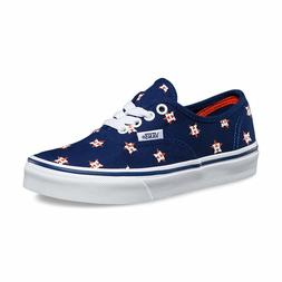 Kids Vans Off the Wall MLB Houston Astros Authentic Baseball