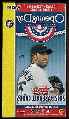 2012 Topps Opening Day Factory Sealed Box  Autograph AU Trou