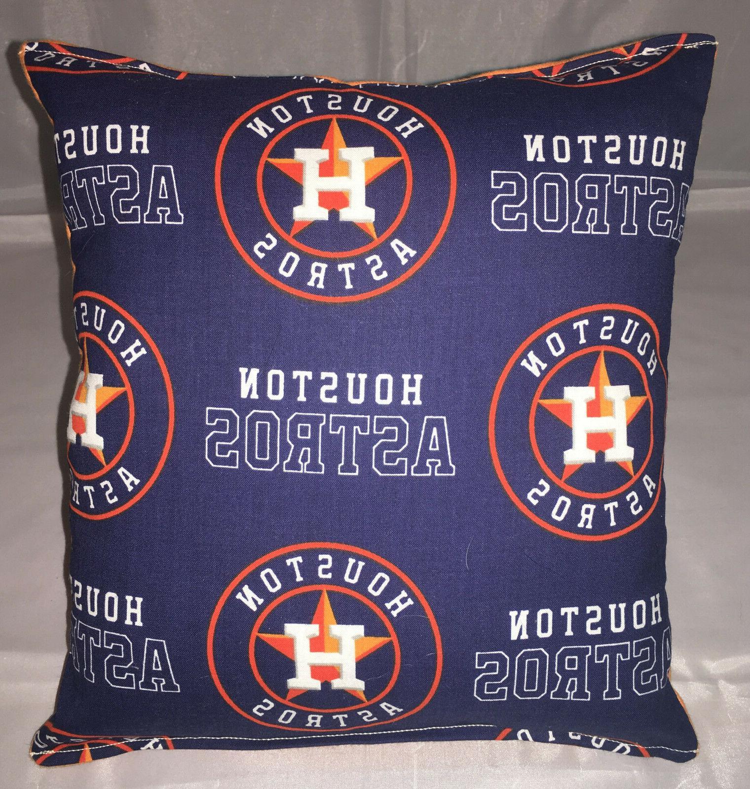astros pillow houston astros mlb pillow handmade