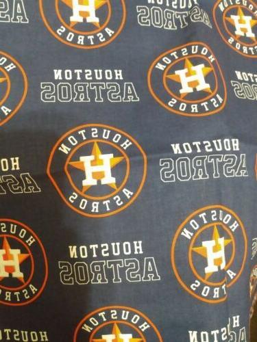 "Houston 8 1/2""- MLB 100% Cotton New"