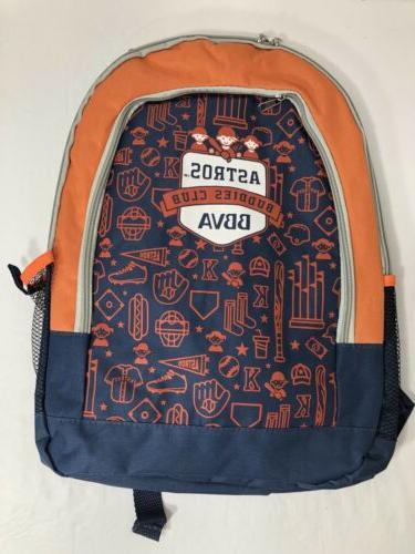 houston astros 2019 buddy kids club backpack
