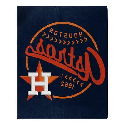 houston astros 50x60 raschel moonshot design blanket